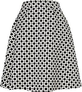 Read more about Studio 8 persia skirt black white