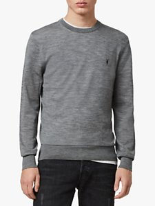 Read more about Allsaints mode crew jumper grey