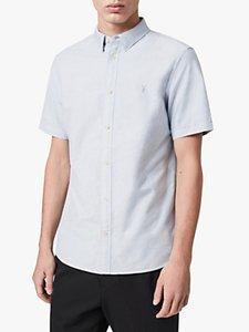 Read more about Allsaints hungtingdon slim fit short sleeve shirt