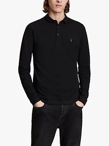 Read more about Allsaints reform long sleeve polo shirt