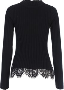 Read more about French connection nicola high neck jumper black