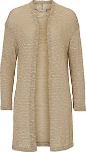 Read more about Betty co long knit cardigan reed green