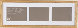 Read more about John lewis multi-aperture oak photo frame 3 photo 5 x 7 13 x 18cm