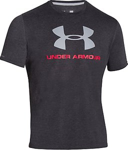 Read more about Under armour logo short sleeve training top black