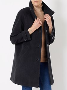Read more about John lewis janet swing coat black