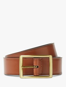 Read more about John lewis full grain leather stitch belt tan