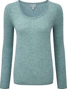 Read more about Pure collection sandra gassato jumper blue frost