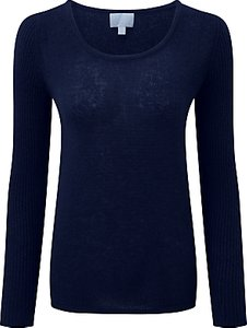 Read more about Pure collection taylor gassato cashmere jumper navy