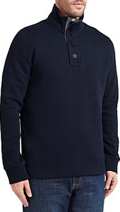 Read more about John lewis weekend button neck sweatshirt navy