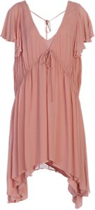 Read more about French connection brooke drape frill dress ballet blush