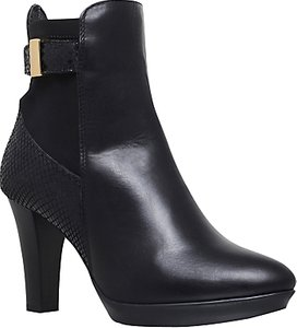 Read more about Carvela rae cone heeled ankle boots black
