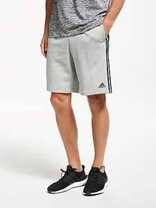 Read more about Adidas essentials 3-stripes training shorts grey