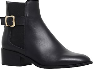 Read more about Kurt geiger storm mid heel ankle boots black