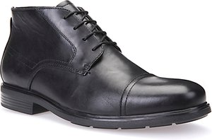 Read more about Geox dublin leather boots black