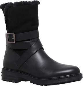 Read more about Kg by kurt geiger soldier ankle boots black