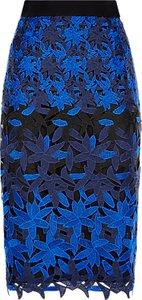Read more about Fenn wright manson petite planet skirt black blue