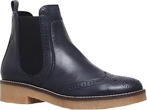 Read more about Carvela slowest block heeled ankle boots navy