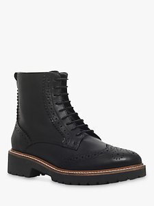 Read more about Carvela snail lace up ankle boots black