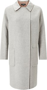 Read more about Four seasons double face 3 4 length coat grey camel