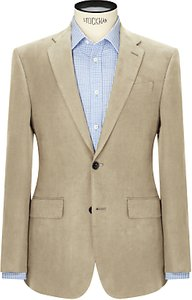 Read more about John lewis silk linen regular fit suit jacket stone