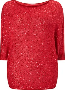 Read more about Studio 8 shawna sequin jumper red