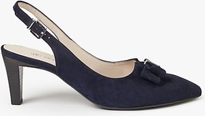 Read more about Peter kaiser mareike slingback court shoes navy