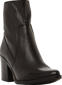 Read more about Steve madden peaches block heeled ankle sock boots black