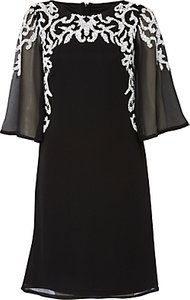 Read more about Raishma wide sleeve beaded dress black