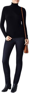Read more about Pure collection gabriella roll neck jumper black