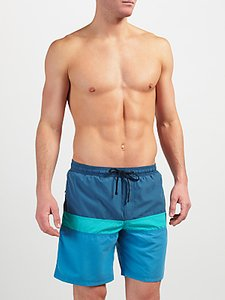 Read more about John lewis cut and sew block swim shorts blue