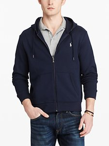 Read more about Polo ralph lauren lsl-knt full zip hoodie aviator navy
