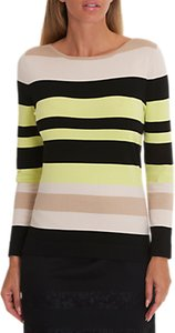 Read more about Betty barclay stripe jumper black beige