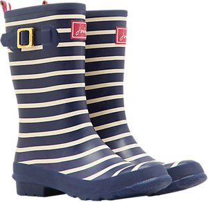Read more about Joules molly mid wellington boot navy