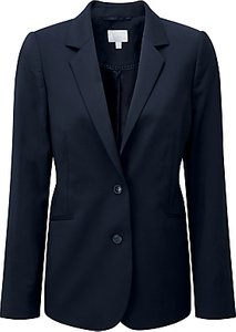 Read more about Pure collection lydia wool blazer navy