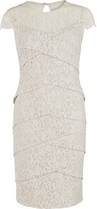 Read more about Gina bacconi corded dainty antique dress beige