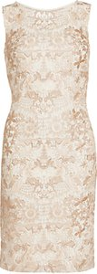 Read more about Gina bacconi tonal floral mesh dress spring butter