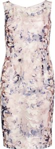 Read more about Gina bacconi soft watercolour mesh dress nude