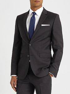 Read more about John lewis semi plain super 100s wool travel suit jacket black
