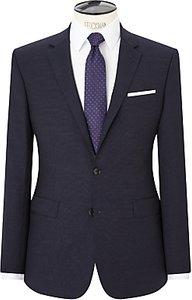 Read more about John lewis semi plain super 100s wool travel suit jacket navy