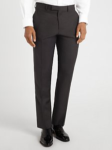 Read more about John lewis semi plain super 100s wool travel suit trousers black