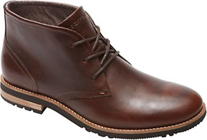 Read more about Rockport ledgehill leather lace up boots brown
