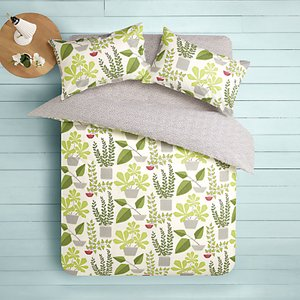 Read more about Missprint house plants duvet cover and pillowcase set