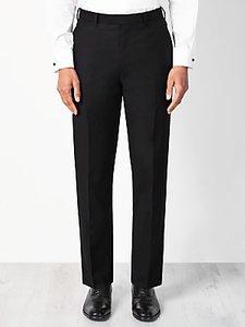 Read more about John lewis wool basket weave regular fit dress suit trousers black