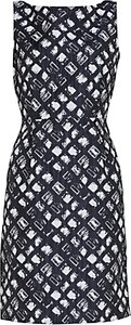 Read more about Gina bacconi geometric jacquard dress spring navy
