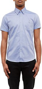 Read more about Ted baker wooey textured cotton short sleeve shirt