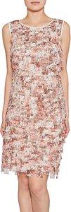 Read more about Gina bacconi chiffon fringe dress