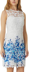 Read more about Damsel in a dress amily boarder dress white blue