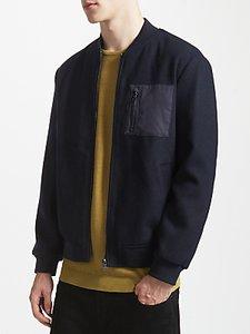 Read more about Kin by john lewis wool trucker bomber jacket
