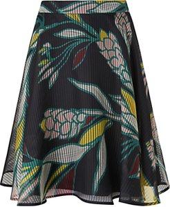 Read more about L k bennett kalia geo flowers skirt multi