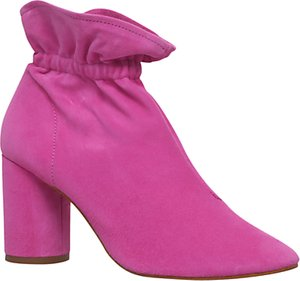 Read more about Kg by kurt geiger raglan block heeled ankle boots pink